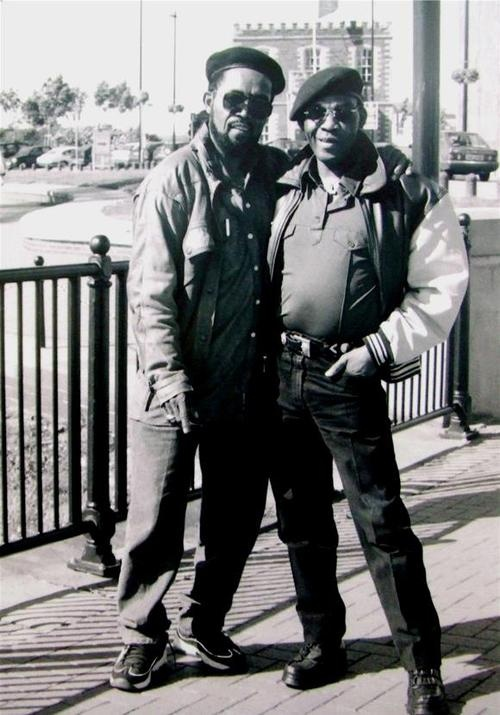 Prince Buster & Desmond Dekker.              Met DD in pub in Forest Hill in early 80's' nice guy. Played Israelites at my wedding reception Greenwich 1969. AJ.