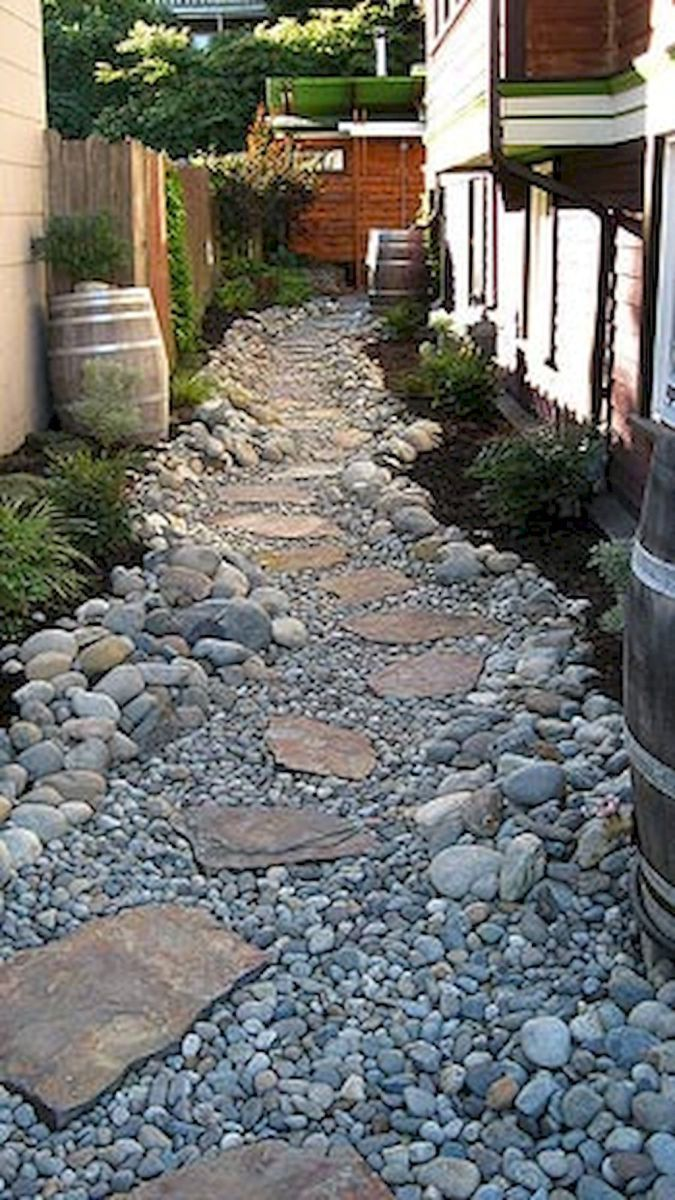 Affordable and creative diy backyard garden path on a budget (34)