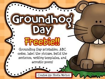 Groundhog Day Activities FREEBIE!! {Print and go!}