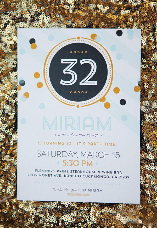 indianjones birthday party invitations printable%0A Confetti Birthday Celebration  Sparkle  u     Shine