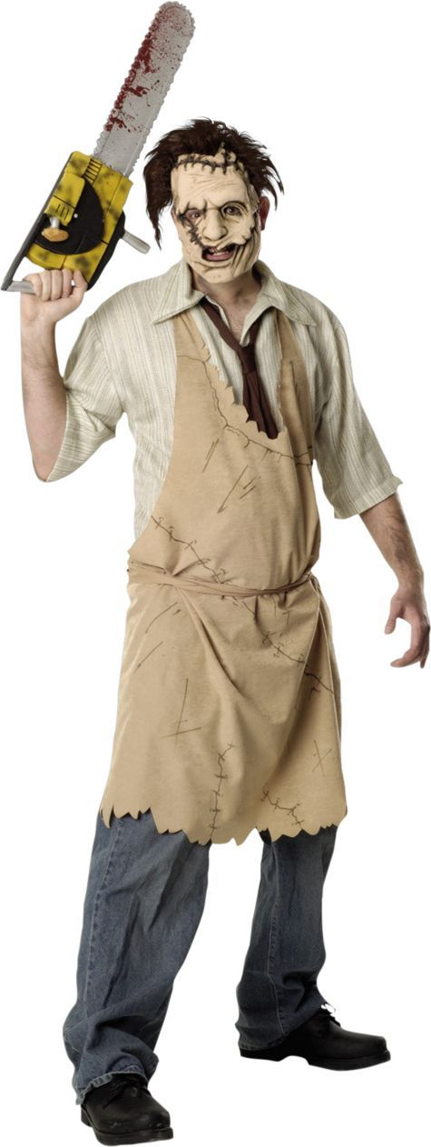 Adult Texas Chainsaw Massacre Leatherface Costume - Party City