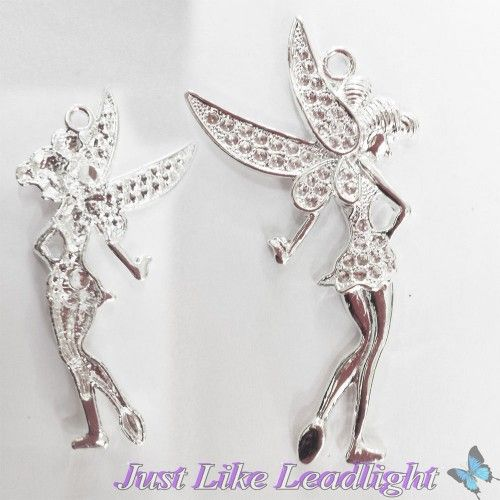 Brand new extralarge 8cm silver fairy pendant. Now available for only $2.50 each http://www.justlikeleadlight.com.au/craft-accessories/charms-pendants-wings/fairy-charms/Large-Silver-Fairy-charm-Pack-of-5