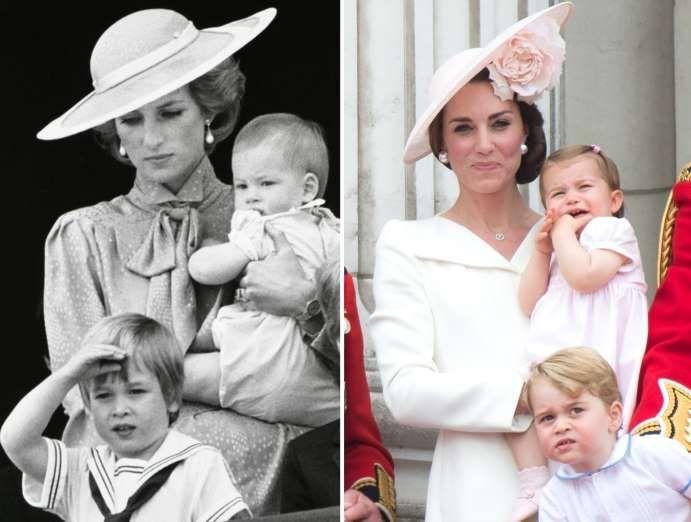 Princess Diana and Duchess of Cambridge - Roy Letkey/Files/Reuters; Zak Hussein - Corbis/Corbis via Getty Images