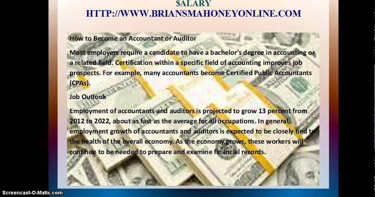 Accountant salary accountant job description