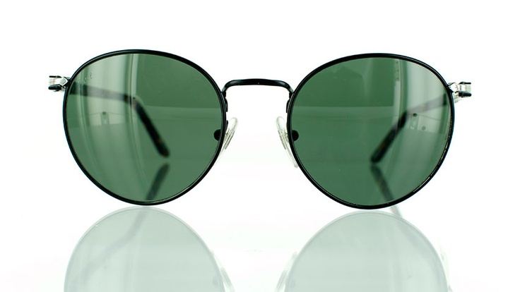 """Persol 2388 : Designer round sunglasses - find this Great """"Glassby"""" look at Goo Goo Eyes. 