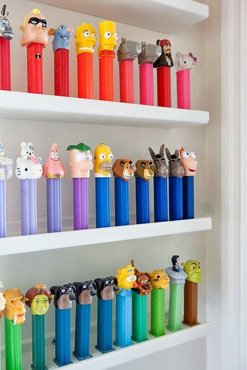 Were Pez dispensers a big part of your childhood? In that case you wouldn't want to miss out on this! Come see the Pez collection on display! #BerkshireCollects