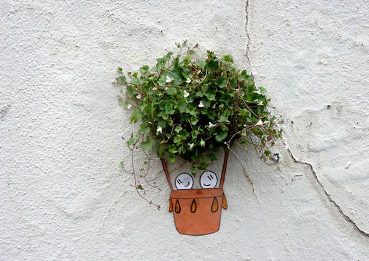 L'arte di OakOak che interagisce con la natura http://restreet.altervista.org/la-collaborazione-tra-arte-e-natura-piu-creare-qualcosa-di-veramente-unico/