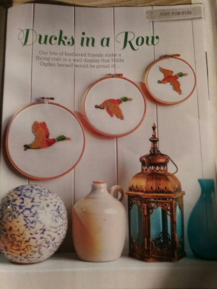 Ducks in a row - Diane Machin