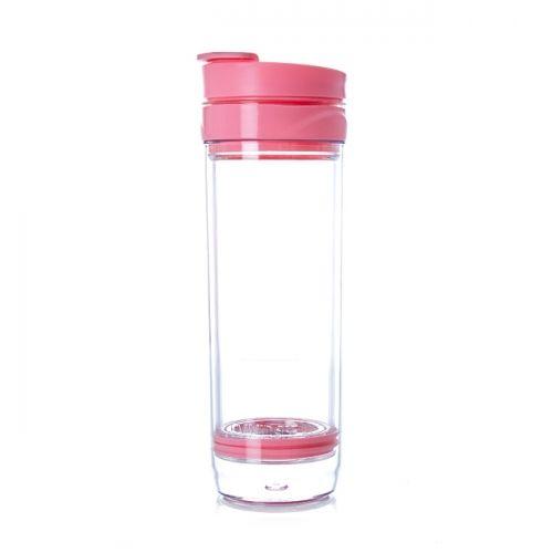 Tasse à piston pour thé glacé rose goyave