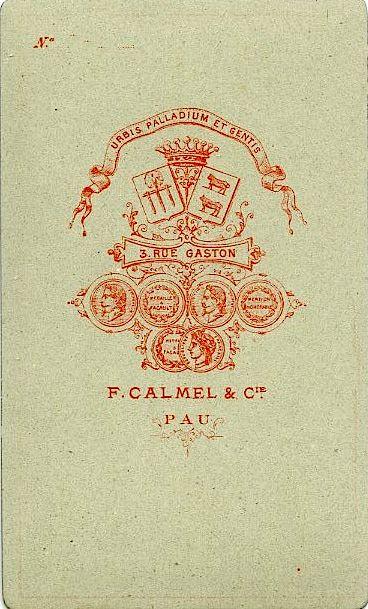 F. CALMEL - Pau, Pyrénées-Atlantiques