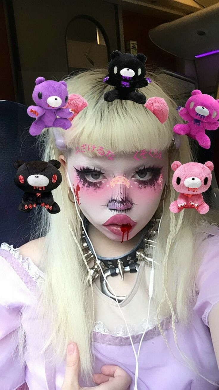 Pin by Millie on •♡ə¹ in 2020 Punk makeup, Grunge