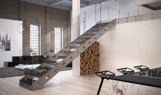 Rialto steel stair