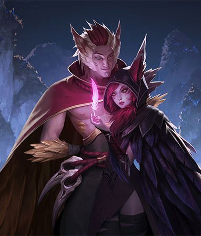 Xayah & Rakan: lovers and rebels | Шая и Рэйкан @League of Legends | Лига Легенд #LoL #ЛоЛ #love #marksman and #support #duo