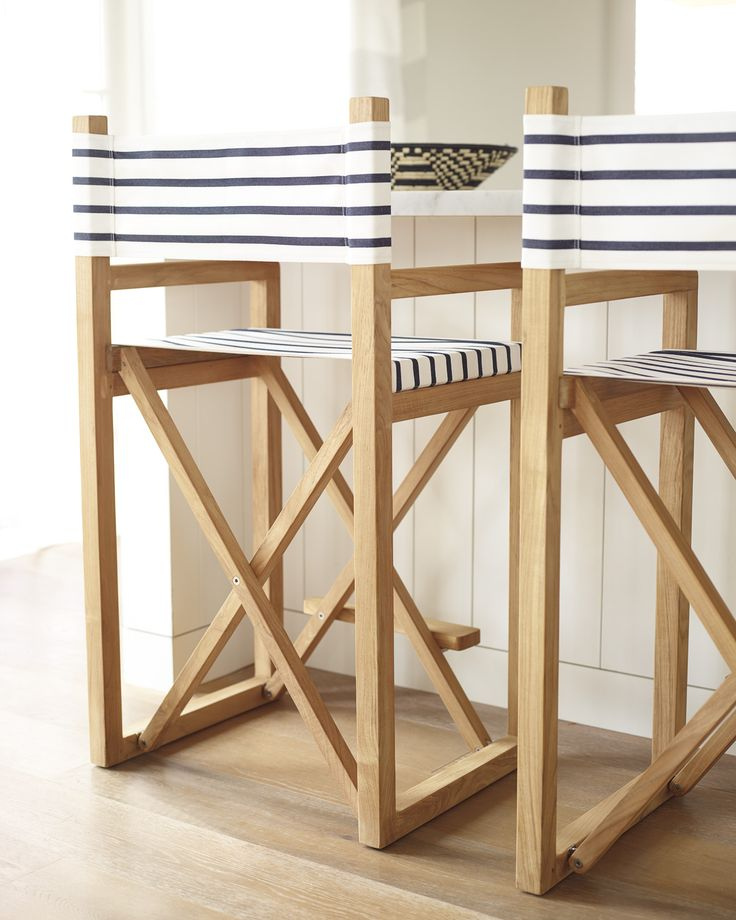 Attractive Beach House Counter Stools Part - 11: Directoru0027s Counter StoolDirectoru0027s Counter Stool