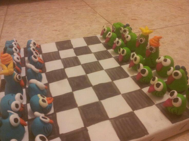 DIY chess set #fimo