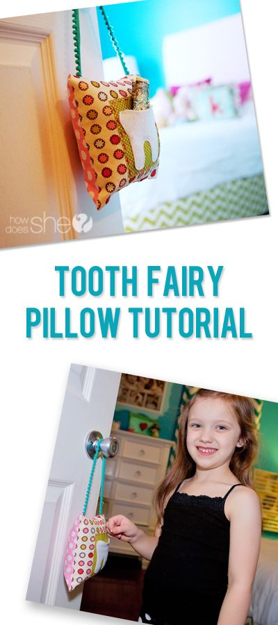 Fairy Easy! – Tooth Fairy Pillow Tutorial #howdoesshe #craftingwithkids #familytime howdoesshe.com