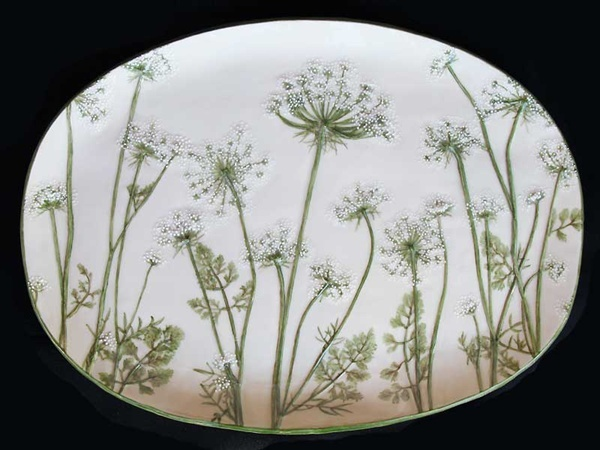 Queen Anne's Lace Platter by Stillwater Porcelain: Queen Anne S, Queen Anne Lace, Queen Annes Lace