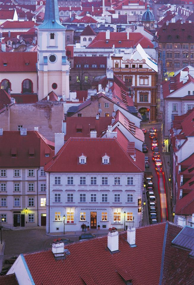 The Three Storks House Reconstruction Prague, Czech Republic