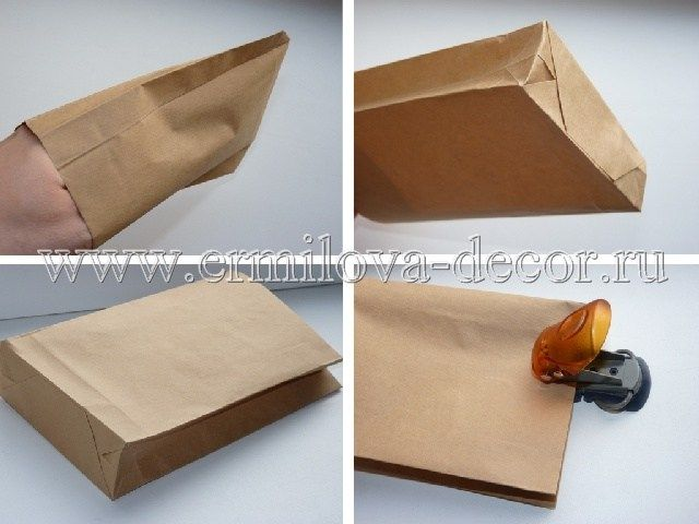 Как самой сделать подарочный пакет