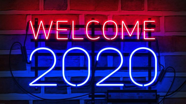 Welcome 2020 Neon Sign 4k Wallpaper Happy New Year 2020 Full Hd Wallpapers Download For Pc Frohes Neues Jahr Neujahr Animierte Bilder