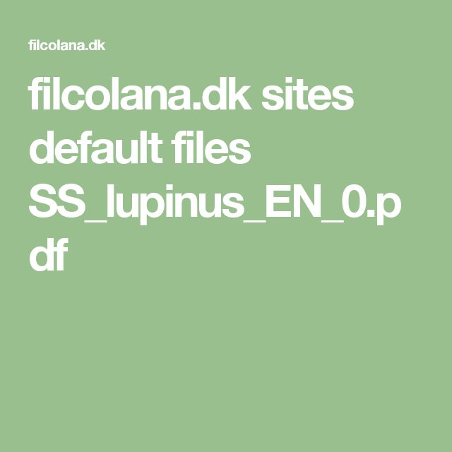filcolana.dk sites default files SS_lupinus_EN_0.pdf