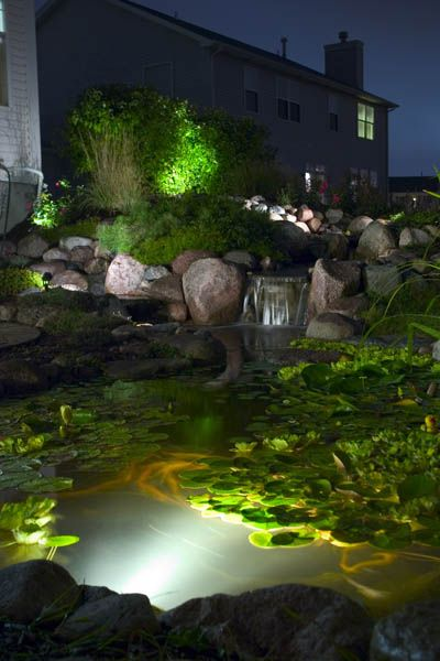 koi pond lighting ideas. delighful pond 593 best ponds and water features images on pinterest  backyard ideas  ponds gardens with koi pond lighting ideas m