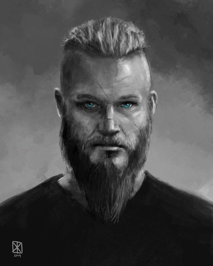 Ragnar artwork | Ragnar Lothbrok by Luktarig
