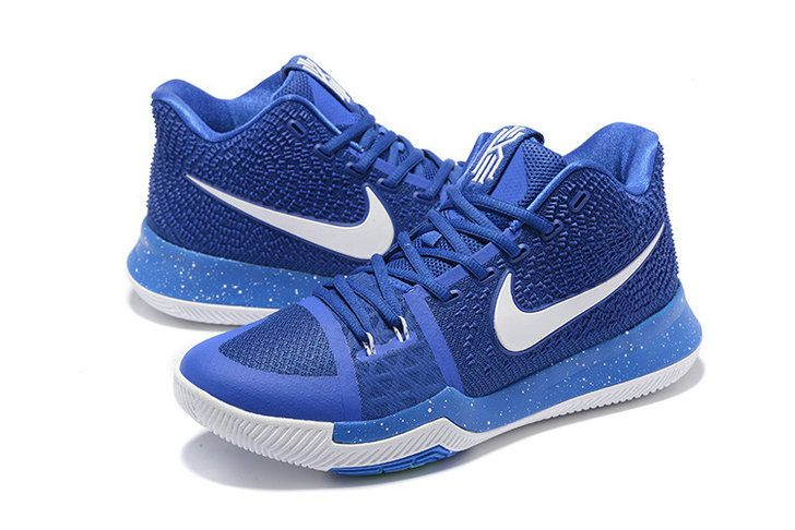d2abf37cab2b Really Cheap University Blue Royal Blue Kyrie 3 III Shoes Mens Basketball  Shoes 2018 On Line