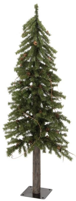 Artificial Skinny Christmas Trees