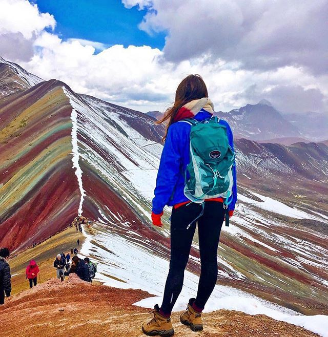 Rainbow mountain itself is considered a holy mountain by local Peruvians and is the deity of Cusco. Since pre-Inca times the mountain has been a place of worship and offerings to Pachamama (Mother Earth ) and this tradition continues today.  #killaexpeditions captured 📷 by @aoidin_