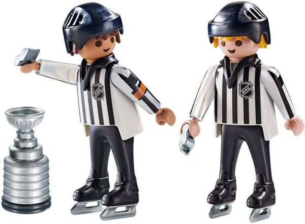 NHL Referees with Stanley Cup