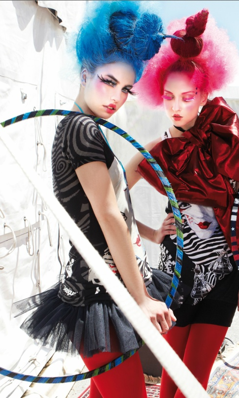 Desigual Cirque de Soleil collection. Goshhh I can't wait to see them in Macon on May 4th!