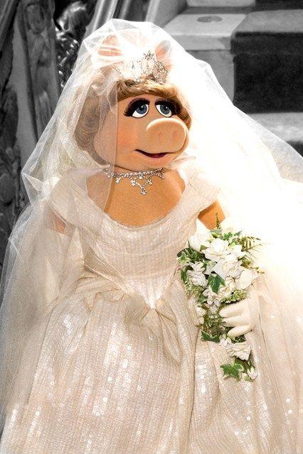 Vivienne Westwood Designs Miss Piggy Wedding Dress (Vogue.co.uk)