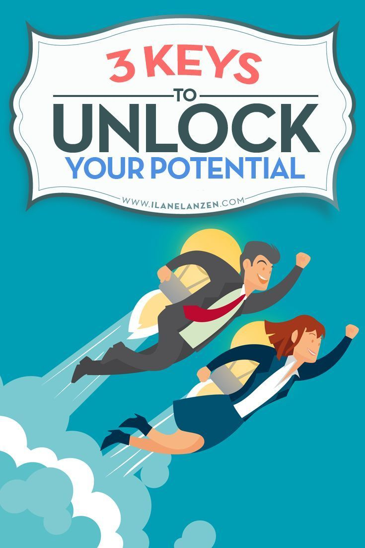 Unlock your potential   http://www.ilanelanzen.com/personaldevelopment/3-keys-to-unlock-your-potential/