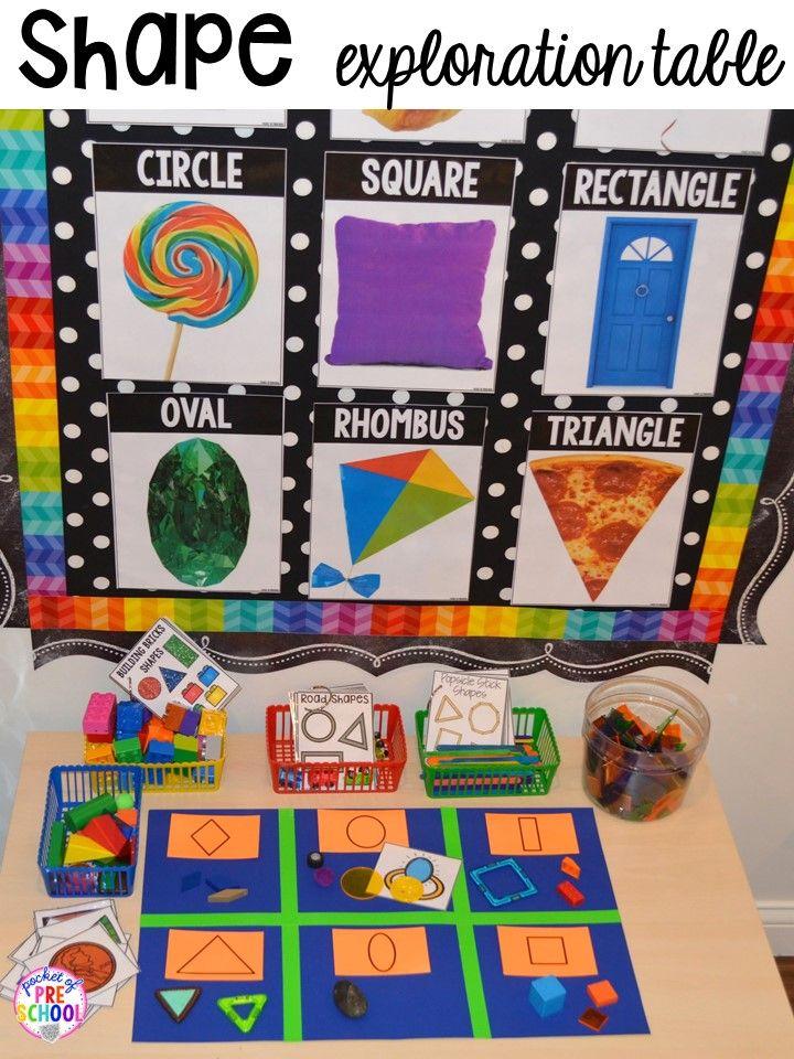 2d Shape Activities For Preschool Pre K And Kindergarten Shapes Kindergarten 2d Shapes Activities Shapes Preschool Activities for preschoolers about