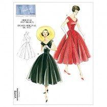 Misses Petite Dress and Belt Vogue Pattern 1172.