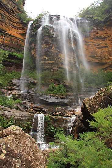 Wentworth Falls in Blue Mountain, Australia.