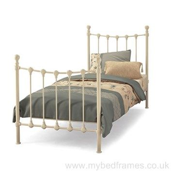 Marseilles Ivory Single Bed Frame #VictorianDesign