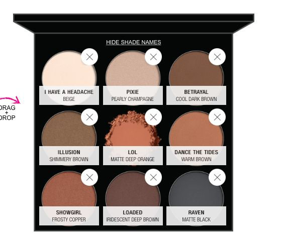 NYX dupe for Kyshadow
