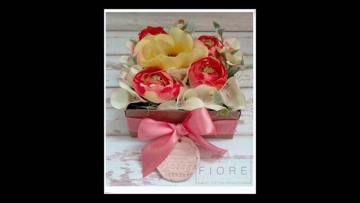 Anyák napi limitált kiadású virágdobozok.  Megvásárolható: http://vintage4kereken.meska.hu