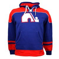 Quebec Nordiques Vintage Power Play Hoodie: The Vintage Power Play Hoodie by CCM… #nhl #nfl #mlb #nba #sportsjerseys #sportsapparel