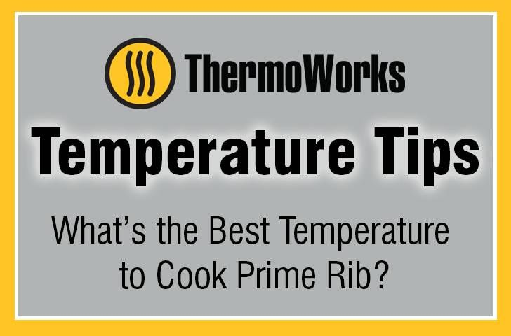 Prime Rib Temperature Tip