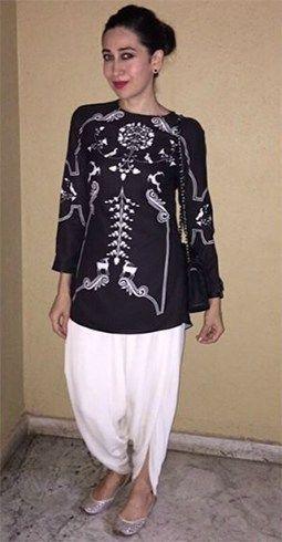 Karisma Kapoor in Dhoti-Pant Style