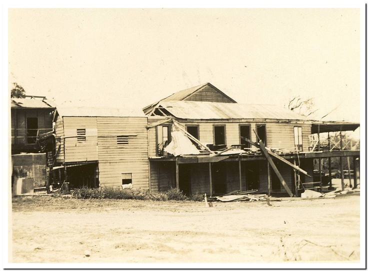 1949 Cooktown Cyclone: Sovereign Hotel.