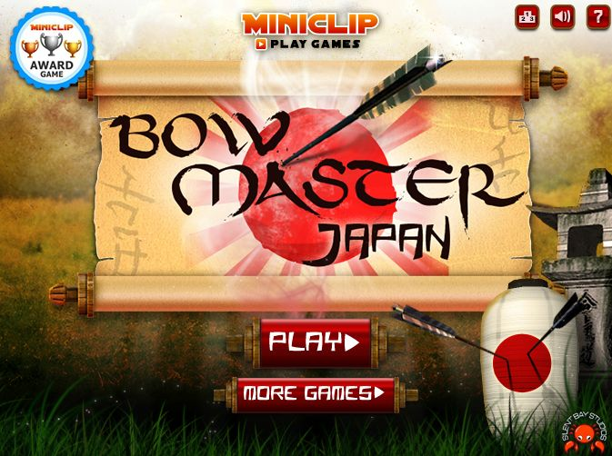 Bow Master Japan, a realistic archery game set in the heart of Japan. Play thru levels of increasing difficulty, taking on the likes of moving targets such as, surreal dragons that jump from the water. http://www.pctechauthority.com/online-game-arcade/bow-master-japan-flash-game.html