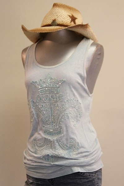Sleeveless Top - Glass Menagerie by VIDA VIDA High Quality Cheap Price 100% Authentic Online Largest Supplier Sale Online Buy Cheap Prices Clearance Best Seller MdSet0Uon
