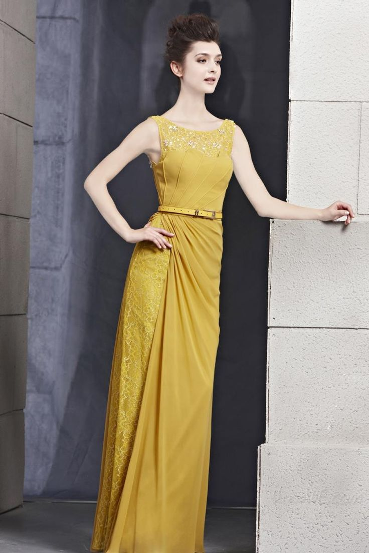 Special, Charming Sheath Scoop Sleeveless Lace EveningCharmingProm Dress with Belt    , Prom,119.99