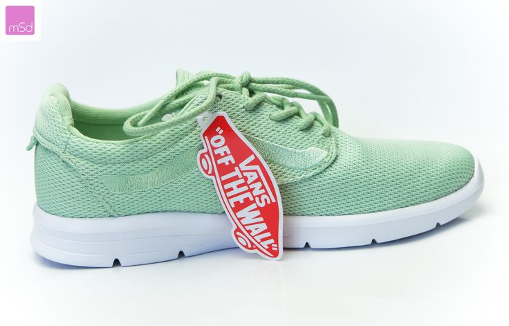 Vans Iso 1.5 + Sneakers grün mint unisex mesh Pastel Lauf-Turn-schuhe Skater 38 #vans #vansgirl vansoffthewall #pastelgreen #mesh #miasuperdeals