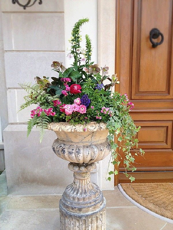 Gorgeous Spring Planter Ideas 1 Awesome Indoor Outdoor Spring Planter Container Flowers Flower Pots