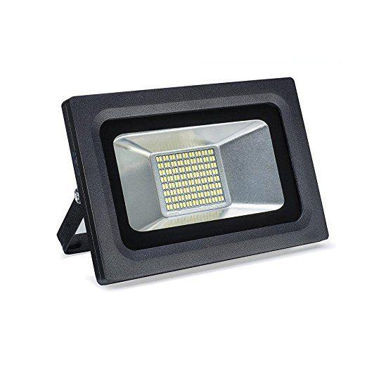 Goalsun 30W Super Bright LED Flood Light Outdoor Security Lights, 2250lm,  144LEDs,Warm